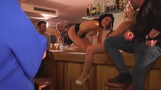 Spanish Eurobabes Squirting Pussy Party