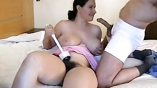 Thick Housewife Sucking Cock
