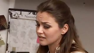 Allie Haze seduces Jelena Jansen !!!