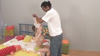 Russian Teen Bailey (4 without 6): Interracial