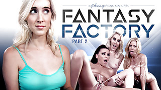 Adriana Chechik & Serena Blair & Cadence Lux in Fantasy Factory 2: Squirting Therapist - GirlsWay