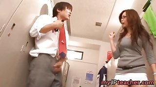 Kaori Hot Japanese teacher getting part4