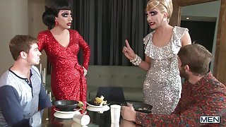 Drag Queens Convince Straight Guys To Go Gay
