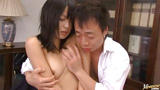 Nana Nanaumi Asian doll learns about sex